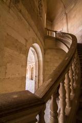 La escalera del palacio Carlos V