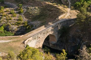 Puente De Tebar. Alarcón. Cuenca. España