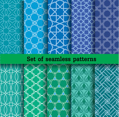 set 2 of seamless patterns
