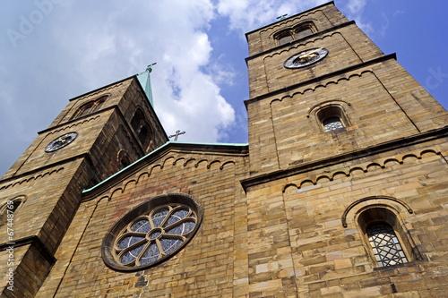canvas print picture Christuskirche in SCHWERTE ( bei Wuppertal )