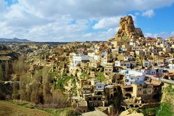 カッパドキアの風景 オルタヒサル