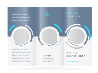 brochure design template vector geometric abstract,