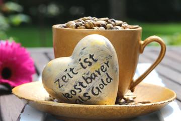 Kaffeetasse mit Herz