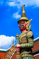 Jiant statue.