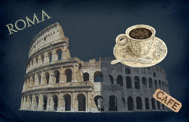 Coliseum illustration