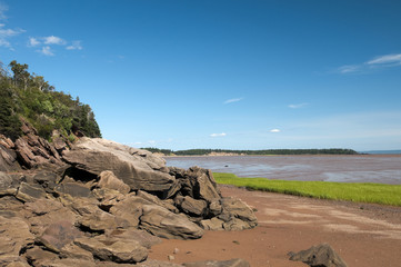Bay of Fundy Red Soil