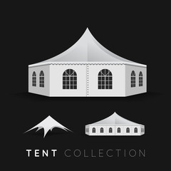 Set of tents