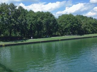Radtour entlang am Rhein-Herne-Kanal