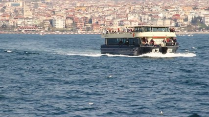 Ferry Boat on the Bosphorus