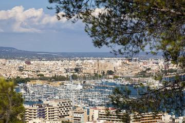 Palma de Majorca cityscape
