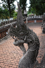 King of Naga from Wat Phra Keaw