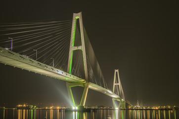 名港中央大橋(名港トリトン)夜景