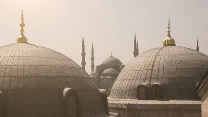 Blue Mosque from Santa Sofia
