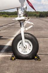 Bugrad eines Flugzeugs