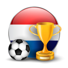 Netherlands football trophy