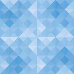 Blue triangle background8