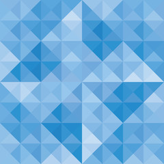 Blue triangle background9