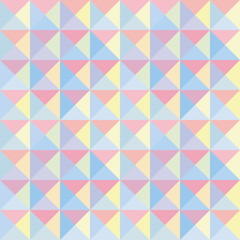Colorful triangle background11