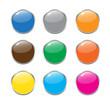 color button vector set