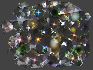 Abstract background reminiscent of diamonds
