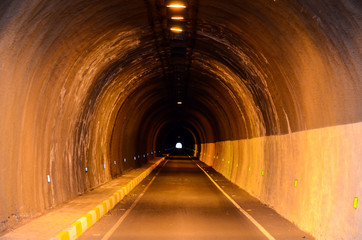 Undergound Dark Tunnel