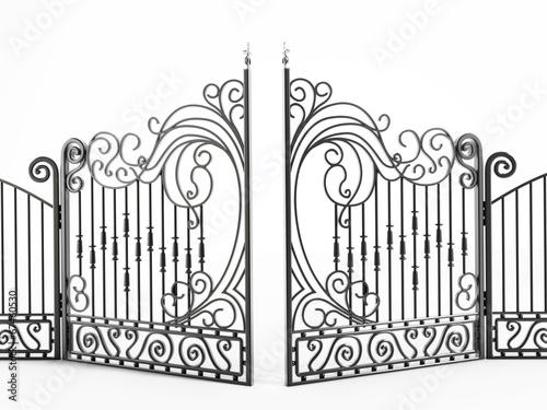 Zdjęcia na płótnie, fototapety, obrazy : Iron gate
