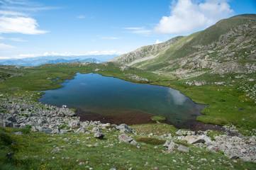 Lac rond - Lacs de Millefonts - Mercantour
