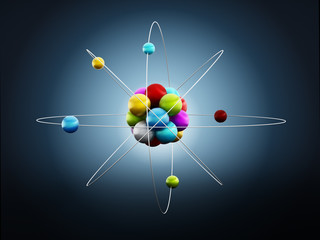 Molecule or atom model