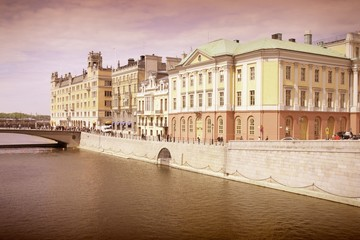 Stockholm. Cross processed color tone.