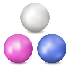 Colored balls