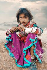 Indian Farmer Dauther