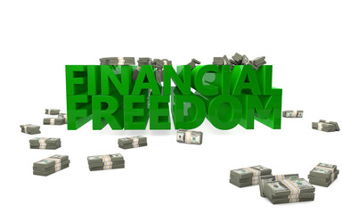 Financial freedom independence