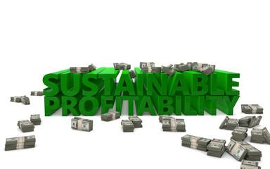 Sustainable Profitability Business Success