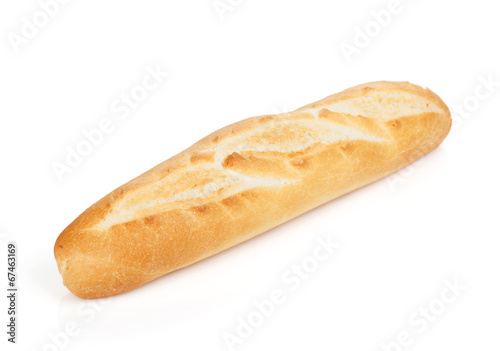 Foto op Plexiglas Brood French baguette