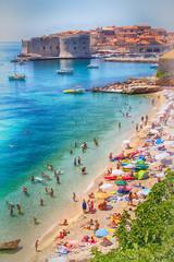 La playa de Dubrovnik