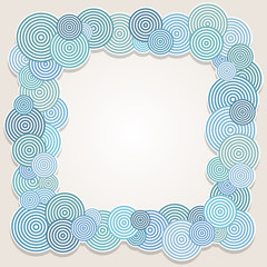 Frame of circles