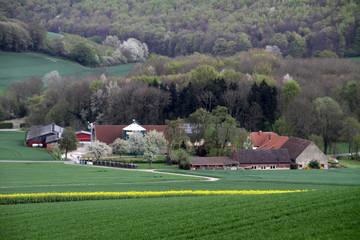 Blick vom Saalberg auf Dorotheental