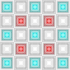 vector seamless shiny geometric pattern