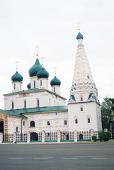 Church of Elijah the Phophet in Yaroslavl city. UNESCO Heritage.