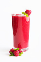 Raspberries juice