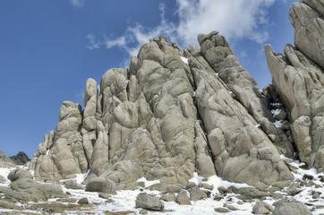 Formación granítica