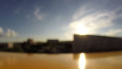timelapse out of focus