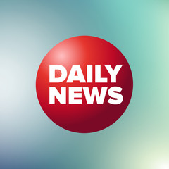 Daily news label vector