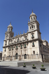 The Cathedral of Jaen, Spain
