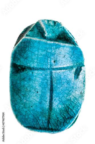 Leinwanddruck Bild Scarab talisman