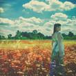 Walking in the Dreams. Female outdoor portrait
