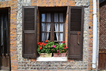 Fensterladen Normandie