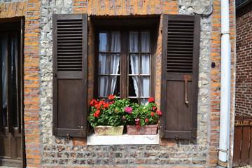 Fensterladen Normandie
