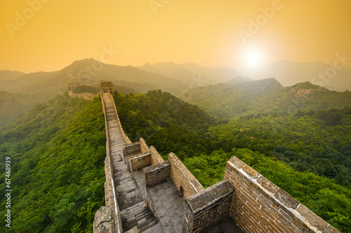 canvas print picture Great Wall of China