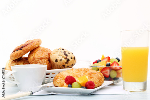 Deurstickers Assortiment breakfast